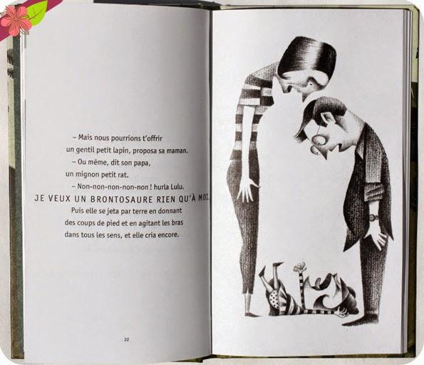 """""""Lulu et le Brontosaure"""" de Judith Viorst et Lane Smith"""