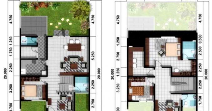 Cara Menggambar Sketsa Denah Rumah Wikigambar Com