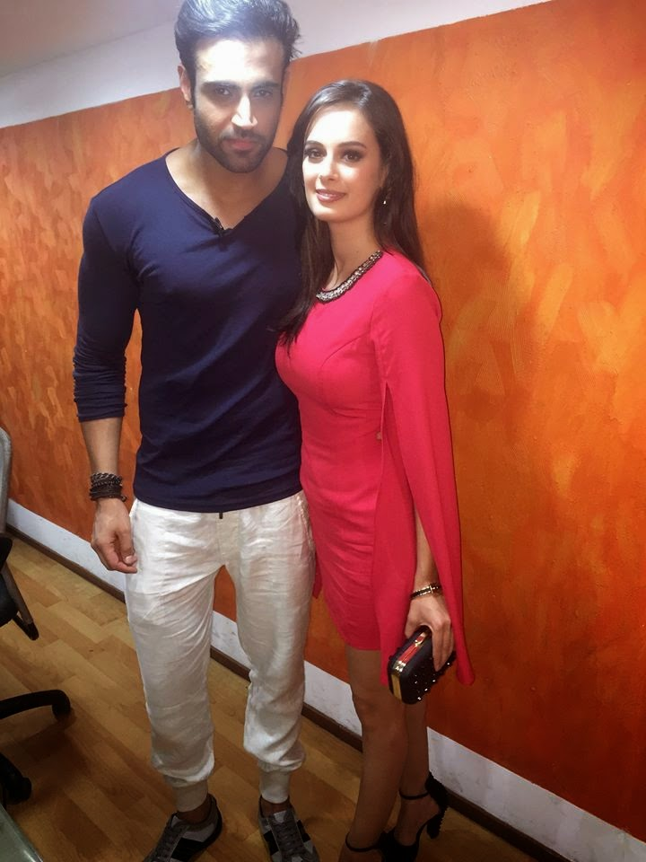 Evelyn Sharma and Navdeep Chhabra at The Promotional Event for Kuch Kuch Locha Hai