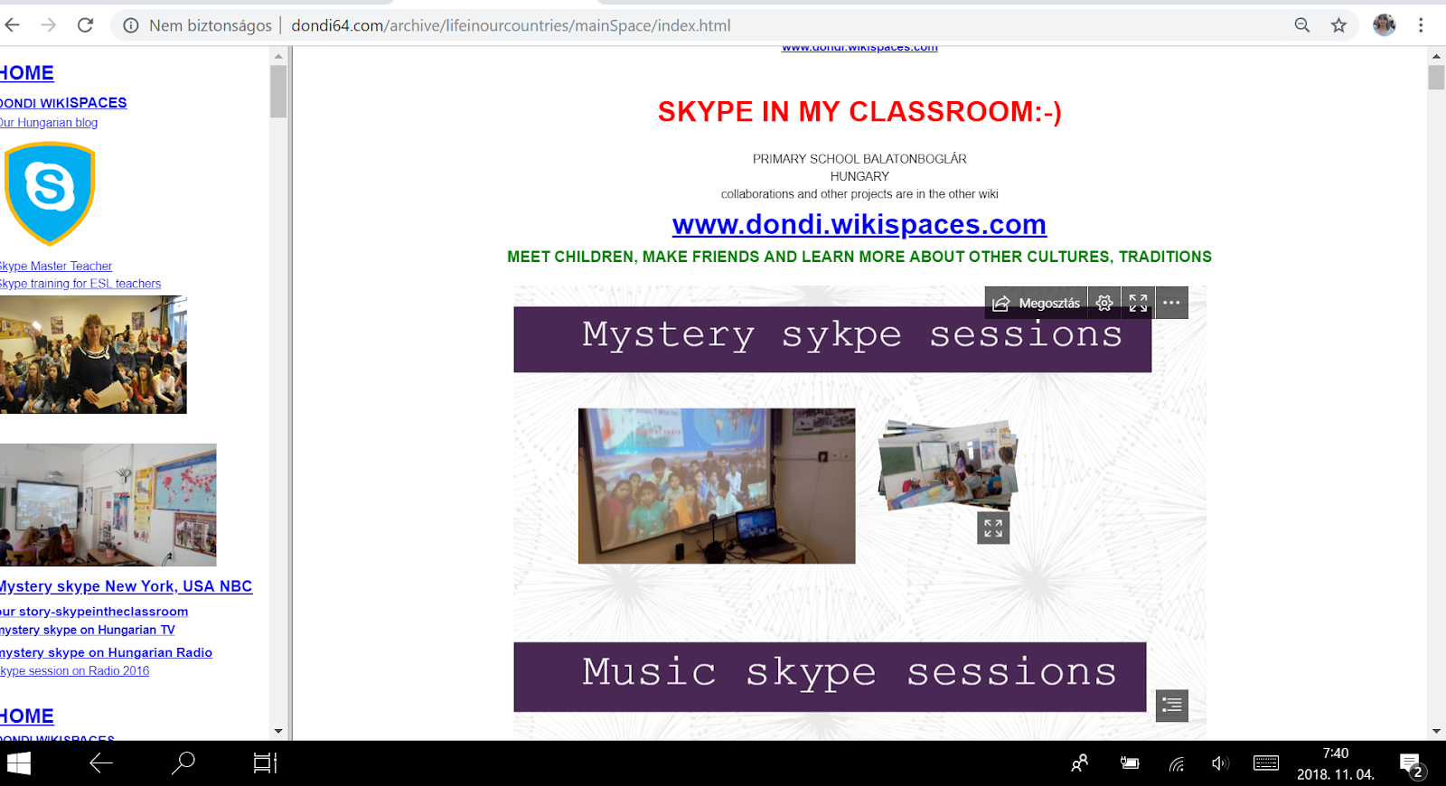skype sessions 2009-2018