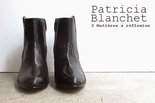 Low boots Patricia Blanchet : les bottines Reno noir