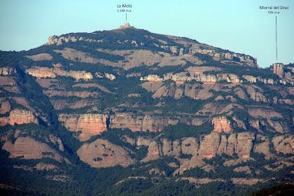 Sant Llorenç del Munt des de la Serra LLisa