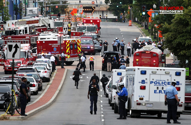 Washington Navy Yard shooting lockdown Thursday (Video News)