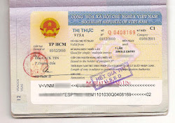 Visa to Vietnam photos