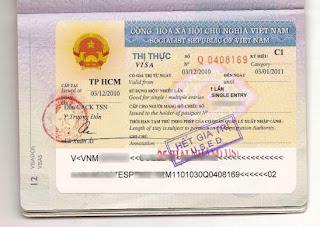 Visa vietnam (Vietnam visa)