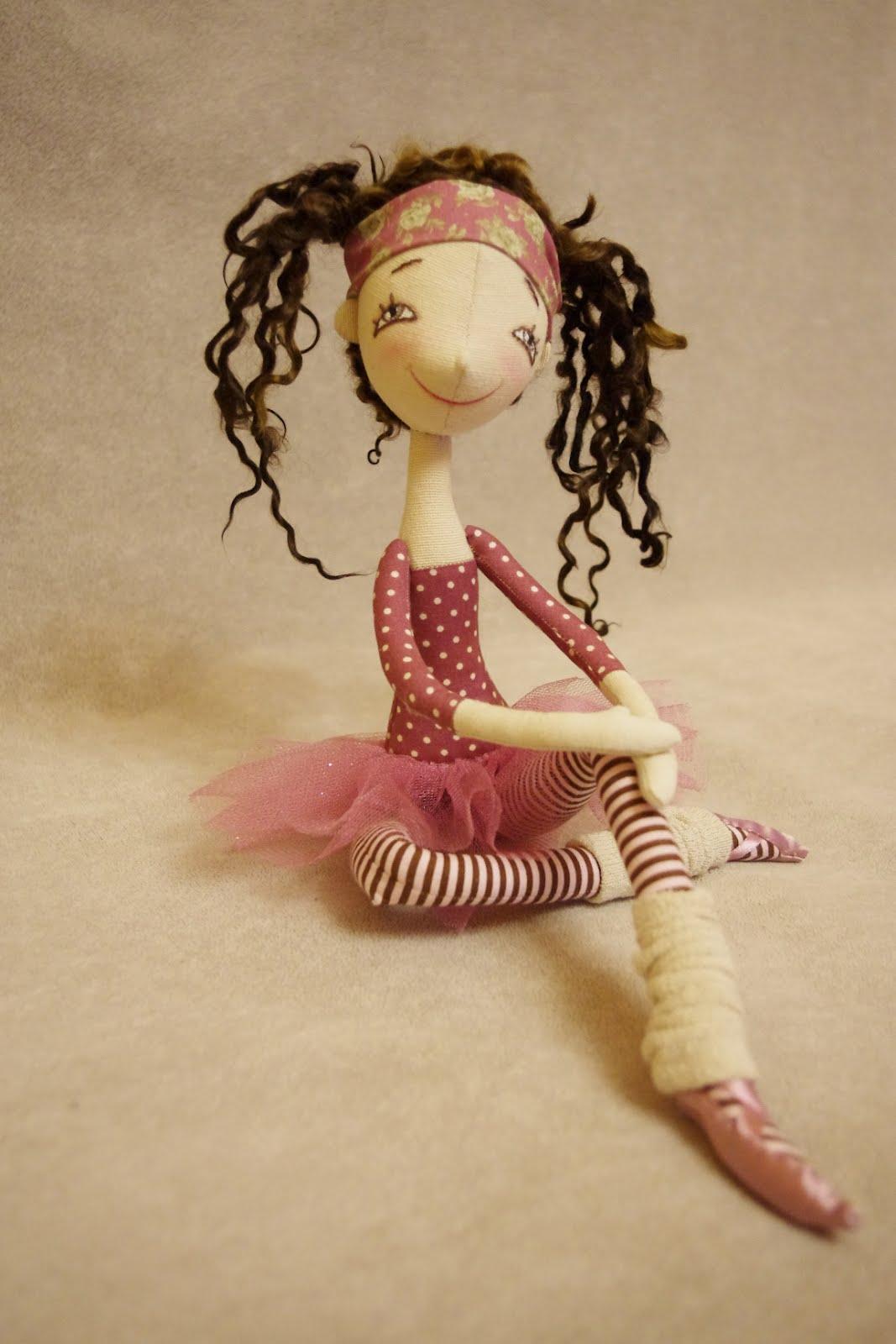 Гимнастка кукла своими руками