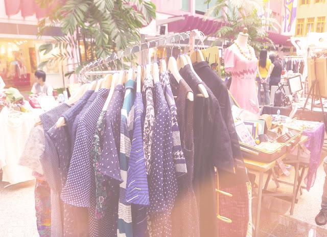 Public Garden vintage flea market booth