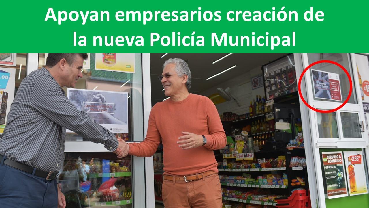 creación de la nueva Policía Municipal