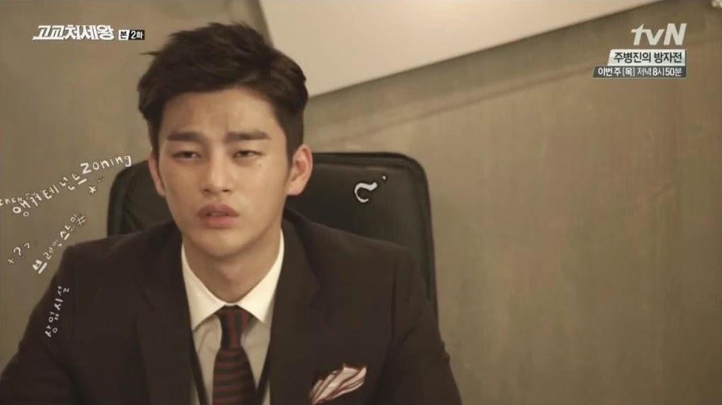 Kim Min Suk High School Love on Min Suk High School King