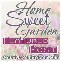 Creative Country Moms Garden