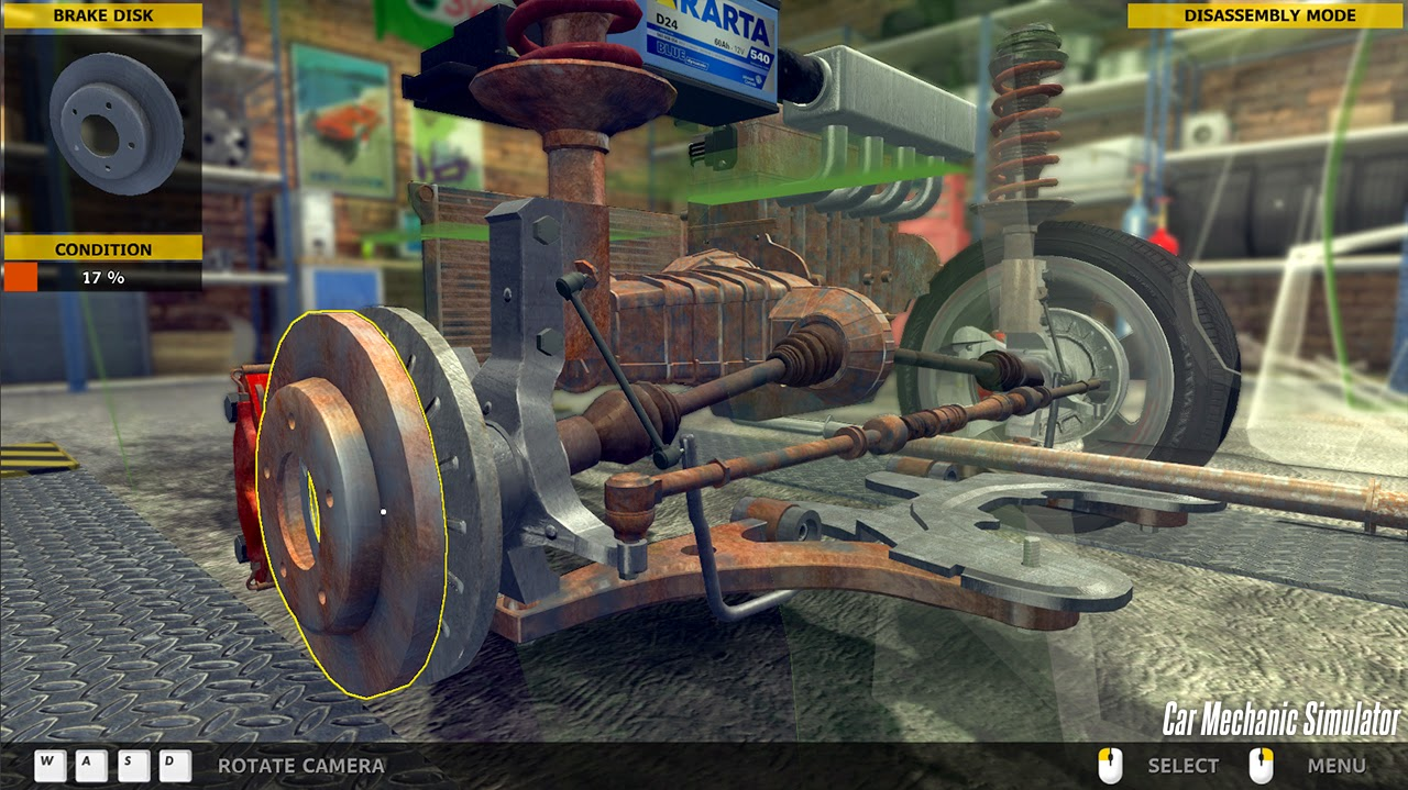Car Mechanic Simulator 2014 gameplay