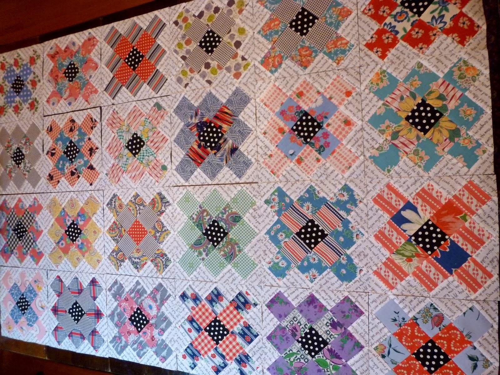Vintage Quilt Fabrics 49