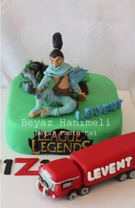 League of legends Yasuo Pastası