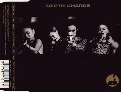 Depth Charge – Legend Of The Golden Snake – CD EP UK – 1995