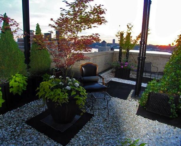 Noir blanc un style for 10 river terrace new york