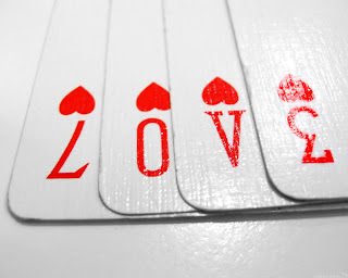 Love Gamble Cards HD Wallpaper