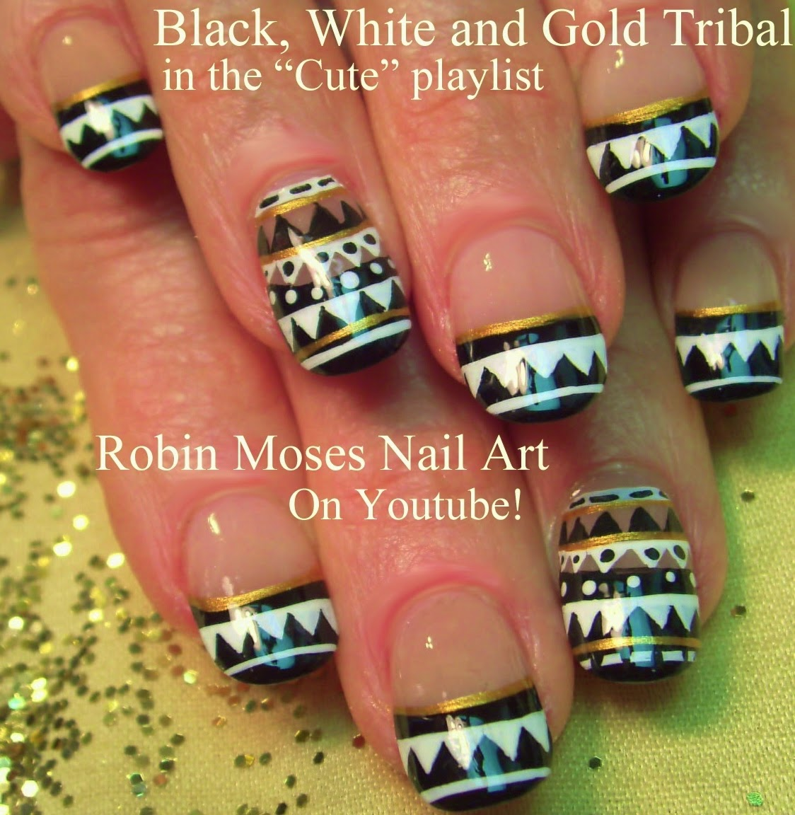 Robin moses nail art aztec nails tribal nail art aztec nail aztec nails tribal nail art aztec nail art moroccan nail art navajo nails navajo design navajo tutorial aztec design aztec nail art how to prinsesfo Choice Image