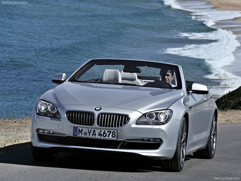 2012 BMW 650i Convertible V-8 engine