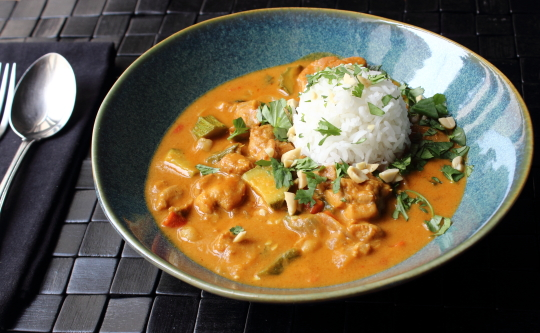 Peanut Curry Chicken – Check Please!