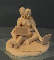 statuette da colorare sculture fatte a mano personalizzate orme magiche