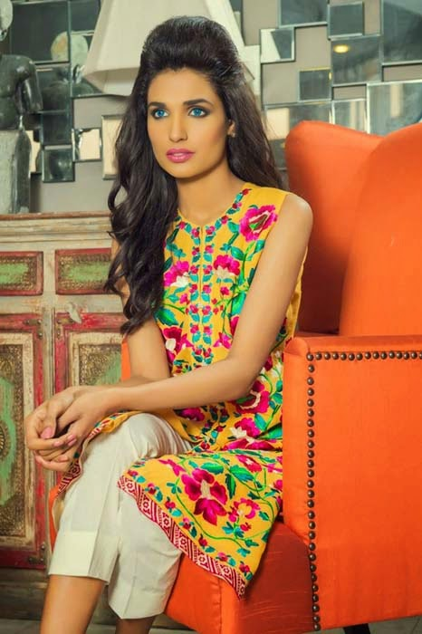 Shirin Hassan Lawn Collection 2015 3