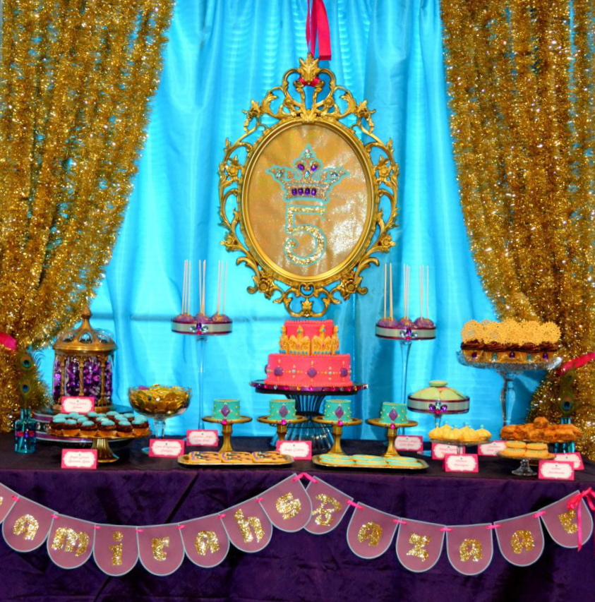 Oh sugar events arabian nights birthday bash for Arabian nights decoration