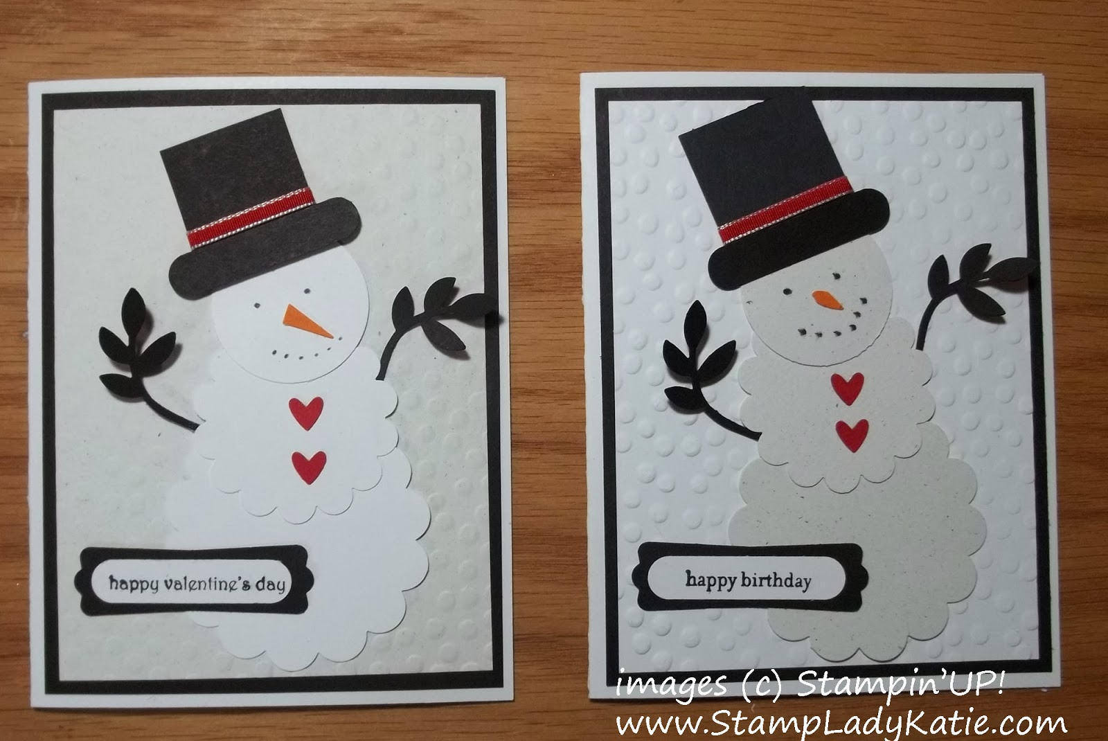 Punch art Snowmen