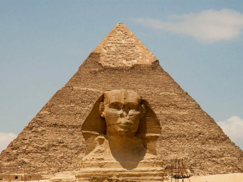 Birth and destruction of pyramids, purpose of building and operating of pyramids