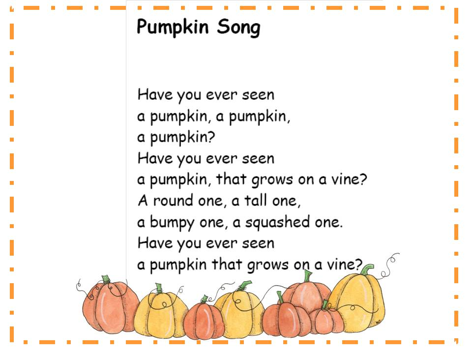 Pumpkin Halloween Songs