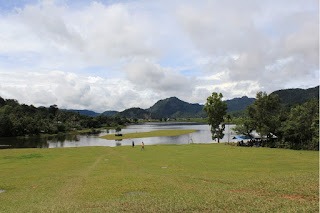 Uniknya Danau Bermuka Dua Tarusan Kamang