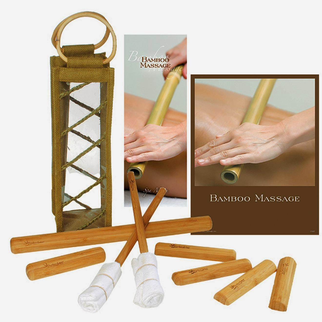 bamboo massage tools