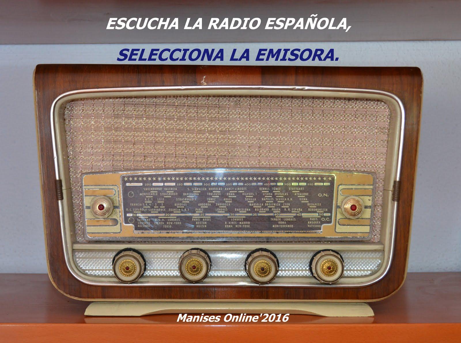 ESCUCHE LA RADIO ONLINE, SELECCIONE LA EMISORA.
