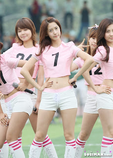 Im Yoona Korean Cute Girl Singer Sexy Photo at Namyangju Central Football Game 9