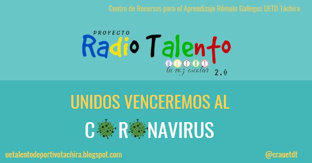 """Escucha la programación de Radio Talento """"tu voz escolar"""""""