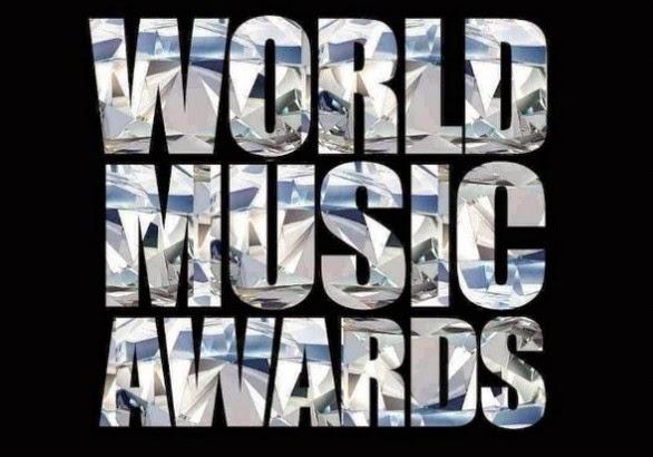 WORLD MUSIC AWARDS nominados 2014