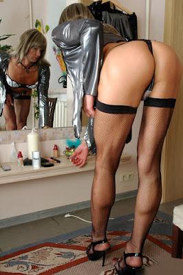 videoporn trans porno con calze a rete