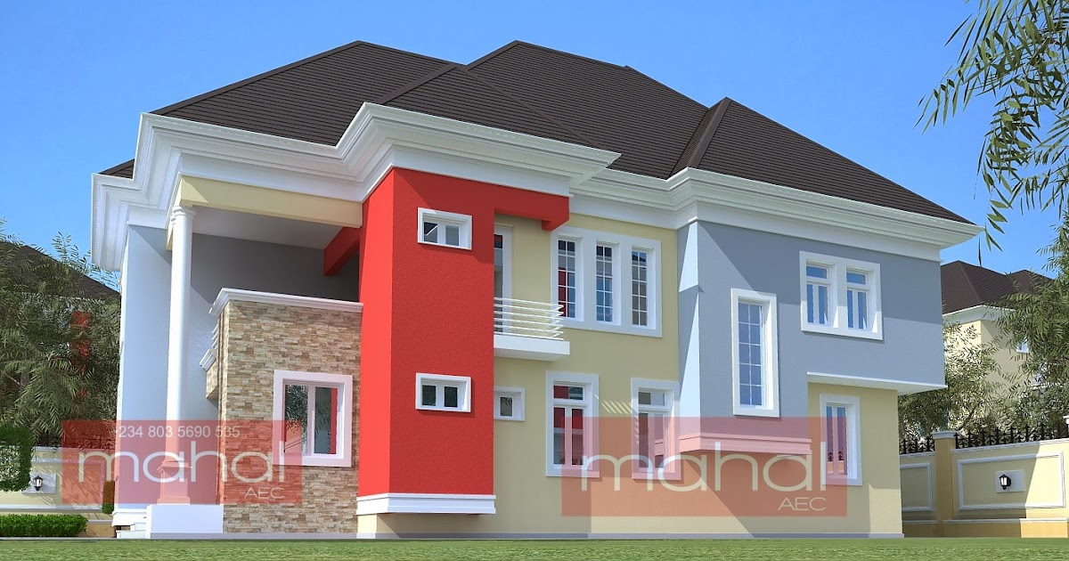 Contemporary nigerian residential architecture 4 bedroom for Nigerian architectural designs duplex
