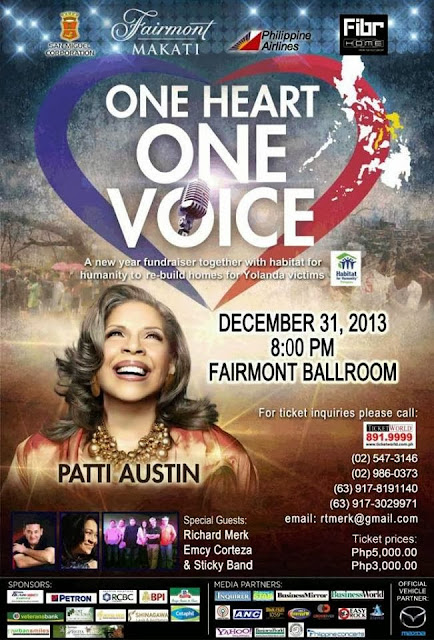 Patti Austin Concert Fairmont Hotel Raffles 2014
