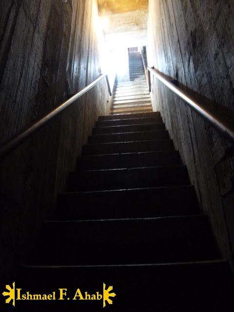 Inside Wat Ratchaburana in Ayutthaya Historical Park, Thailand