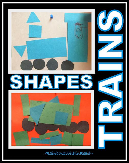photo of: Preschool Trains and Shape Recognition via RainbowsWithinReach
