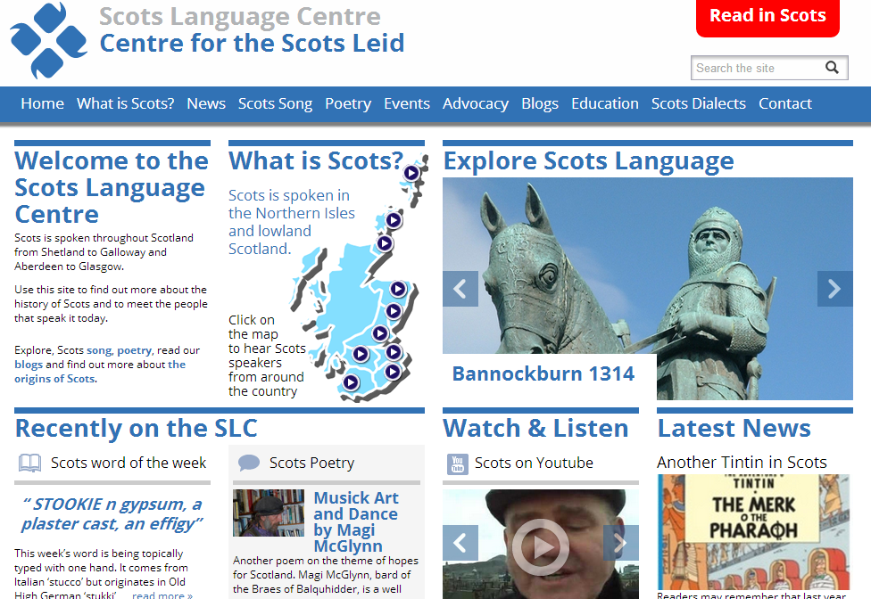 Scots Language, Lowlands, Medieval Scotland, Resources