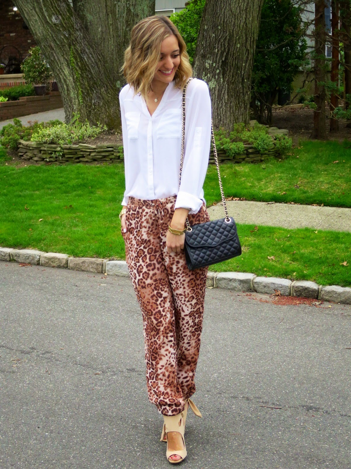 ny & co leopard pants