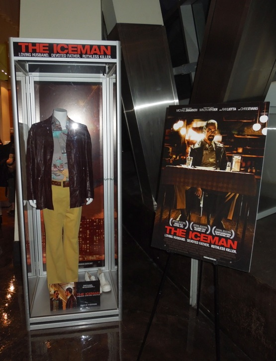 Iceman costume exhibit ArcLight Hollywood