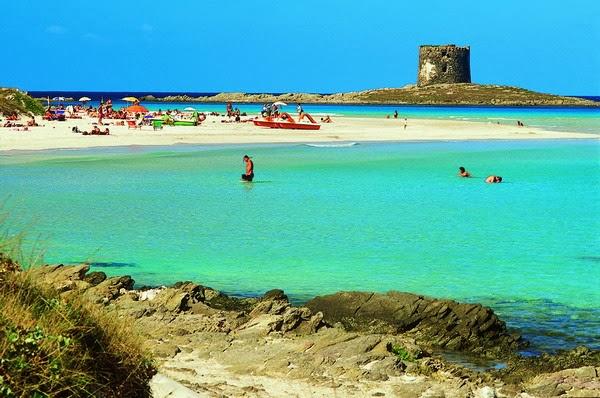 удивително красив плаж в Италия