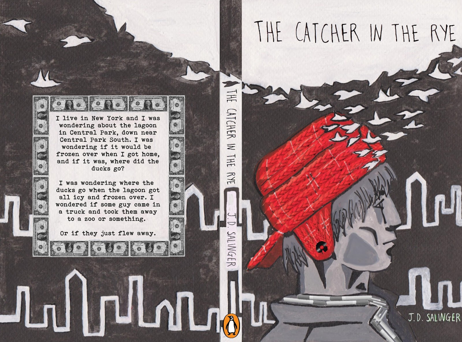 a defense against the harsh allegations against the catcher in the rye in the article of gish jen wh