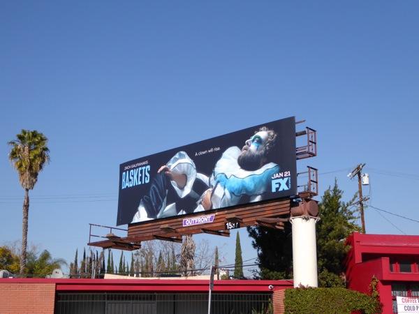 Baskets series premiere billboard
