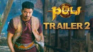 Puli – Official Trailer 2 _ Vijay, Sridevi, Sudeep, Shruti Haasan, Hansika Motwani
