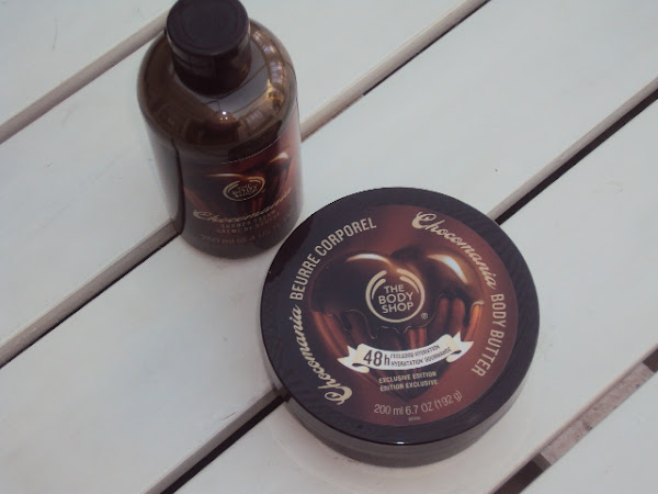The Body Shop Chocomania collectie.