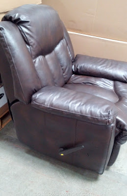 Relax the right way on the Franklin Bristol All Leather Recliner