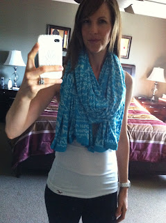 Fashion Friday   Lululemon Om Scarf